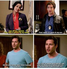 Jake and Amy go on their honeymoon. Tv Show Quotes, Movie Quotes, Series Movies, Tv Series, Brooklyn 99 Actors, Brooklyn Nine Nine Funny, Scary Terry, Jake And Amy, Jane The Virgin