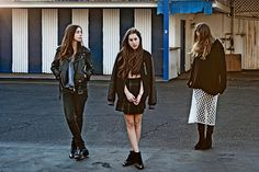 From shopping in thrift stores and gas stations to nail polish colors and hair-care regimens, check out Refinery29's interview with HAIM's Alana.
