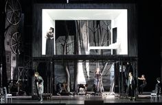 Il Trovatore at the Bayerische Staatsoper. Production by Olivier Py. Srets and Costumes by Pierre-André Weitz.