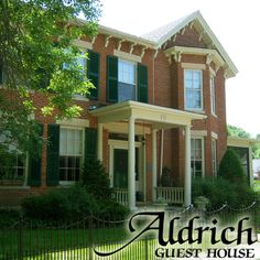 Aldrich Guest House, Bed & Breakfast in Galena, IL.