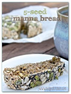 5-Seed Manna Bread: also known as Essene bread, it's dense, chewy and naturally sweet (vegan).