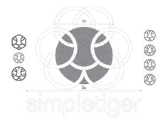 Dribbble - Logo Design Construction for SimpleTiger by Gert van Duinen