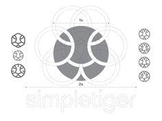 Dribbble - Logo Design Construction for SimpleTiger by Gert van Duinen