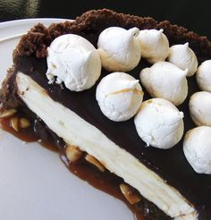 Ultimate Cheesecake: Triple Choc with Salted Peanut Caramel