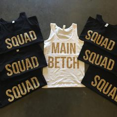 Bachelorette Part shirts https://www.etsy.com/listing/235194118/bachelorette-party-shirts-completely