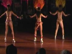 Samba Performance at Doudoule Camp by LDA - YouTube