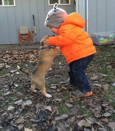 And these little buddies who aren't shy about sharing kisses. | 22 Times Humans Were A Dog's Best Friend