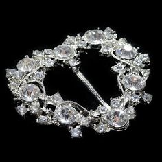 large diamante sparkling rhinestone heart shape by Mamahanky, $4.99