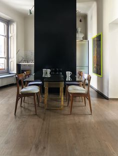 #Parquet Leera, Contatto collection. Perfect for #renovations thanks to Uniclic block system. #wood #floor #kitchen #nature #oak