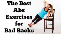 The Best Abs Exercises (That Won't Hurt Your Back) | Full 10 Minute Abs Workout for Bad Backs