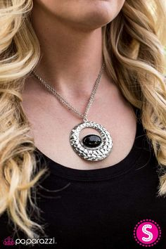 Life's Zoo Short Black Necklace