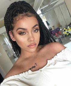 Styles for Hair Braids – Lavish Braids Beauty Make-up, Beauty Hacks, Hair Beauty, Cute Hairstyles, Braided Hairstyles, Curly Hair Styles, Natural Hair Styles, Braid Styles, Swagg
