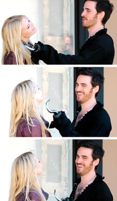 Okay so you're telling me that I have to see all these beautiful pictures of Captain Swan and the cast and Georgina and CAPTAIN SWAN, and then have to wait until SEPTEMBER to see the episode. Causing me to wonder what they're laughing about, what Killian and Emma are doing with Elsa, how Elsa even introduced herself, how she's gonna act, how Killian gets new clothes...WE HAVE TO WAIT TO FIND OUT *ugly sobbing*
