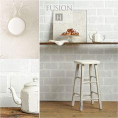 Fusion's meest populaire neutrale kleur: een warme witte en diepe tint en gaat goed bij elke andere kleur.  500ml
