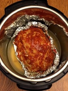 This Instant Pot meatloaf is so juicy and tender! Instant Pot is the quickest and easiest way of making meatloaf! Instant Pot meatloaf cooks in less than half the time it would take to bake it in the oven! Instant Pot meatloaf pressure cooking time is 25 minutes, and baking meatloaf in the oven takes over an hour! That's at least 30 minutes saved! Would you rather spend over an hour or just 30 minutes for the same result? Yummy, yummy, meatloaf in your tummy! To make the meatloaf in the...