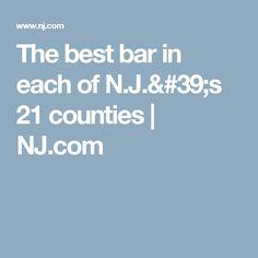 The best bar in each of N.J.'s 21 counties   | NJ.com