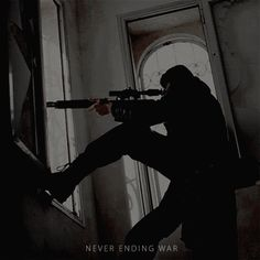 He balanced the barrel of the sniper rifle carefully in the open window sill. As always, this would be easy. He's famous for his sniping. One deep breath, another life gone. Story Inspiration, Writing Inspiration, Character Inspiration, Mafia, Winter Soldier, Character Aesthetic, Gun Aesthetic, Aesthetic Black, Gangsters