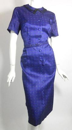 50s dress vintage clothing