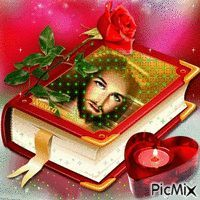 Jesus And Mary Pictures, Pictures Of Jesus Christ, Image Jesus, Cross Pictures, Jesus Wallpaper, Vote Sticker, Good Night Gif, Heart Gif, Christian Images