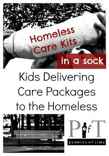 Act of Kindness: Care Kit for the Homeless - Pennies Of Time: Teaching Kids to Serve