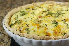 Smoked Salmon Quiche  (ps-- this guy has a great blog!)