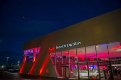 The stunning new home of Audi North Dublin.