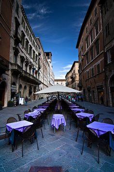 Perugia - Corso Vannucci - A Restaurant,Italy