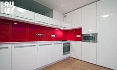 Rekonštrukcia bytového jadra, Ružinov   RULES Architekti Bratislava, Kitchen Cabinets, House, Home Decor, Flat, Closet, Projects, Decoration Home, Bass