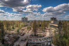 Lost Places Fotografen aufgepasst! Seid dabei bei unserer spannenden Fotoexpedition in die Sperrzone in Tschernobyl & Pripjat.