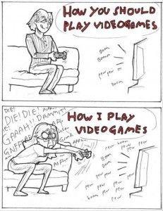 Ahahahah yes the times that i do play haha