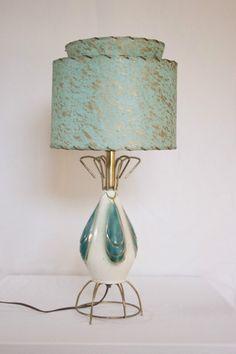 Vintage Mid Century Modern Retro Eames Era Lamp Atomic 2 Tier Shade | eBay