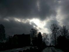 Näyttävä taivas