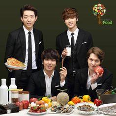 Cnblue Kfood