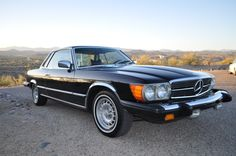 70's Mercedes SLC