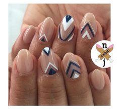 Unique nail pattern
