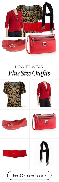 """""""Plus Midi Dress - Jacket Combo"""" by kathoney on Polyvore featuring WearAll, Anne Klein, Pieces, Calvin Klein, women's clothing, women, female, woman, misses and juniors"""