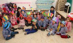 """Los chicos del Centro de Primera Infancia """"Gestitos"""" en Mataderos celebraron el Día de la Primavera!"""