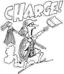Carol Burnett cartoon with mop - Google Search