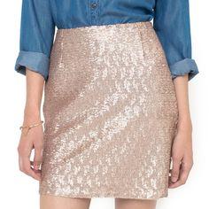 Jupe à paillettes, SOFT GREY SOFT GREY Moda Online, Short Skirts, Ideias Fashion, Sequin Skirt, Style, Glitter, Shorts, Closet, Beauty