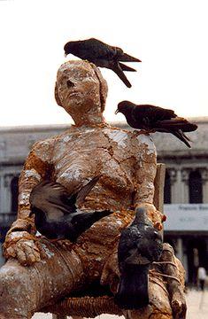 fa+ / Il Cadevere Squisito one day sculpture lady of bread