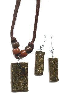 Recycled Belt – Textured Jewelry