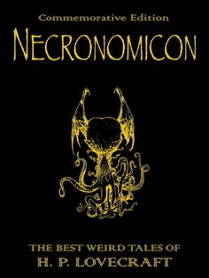 h. p. lovecraft Necronomicon -  A great book