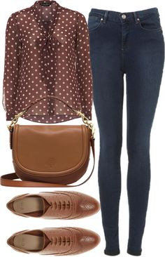 Untitled #403 by im-emma featuring tan oxford shoes