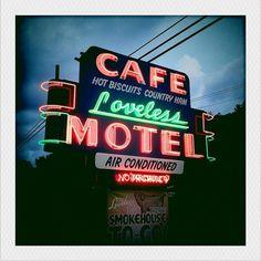 Loveless Cafe, outside Nashville, Tennessee