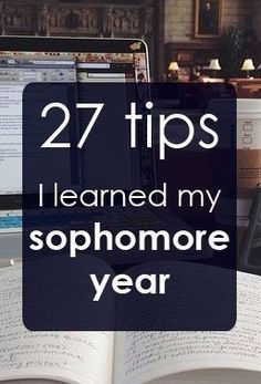 27 College Tips I Learned Sophomore Year