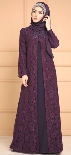30 Hijabs for Muslim Women Dress Brokat Muslim, Muslim Dress, Hijabi Gowns, Pakistani Dresses, Dress Muslimah, Abaya Designs, Moslem Fashion, Hijab Dress Party, Kebaya Dress