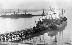 The Karamea at Oamaru, 1912 | NZHistory, New Zealand history online