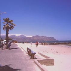 The Strand, Cape Town - Nice area to stay with plenty of accommodation rentals available. About 40 minute drive to Cape Town. Places Ive Been, Places To Go, Lush Garden, Cape Town, Amazing Places, West Coast, Childhood Memories, South Africa, The Good Place