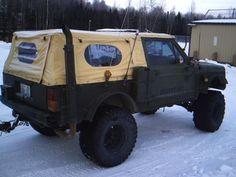 Jeep xj rat military