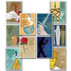 Eco friendly English posters--from Shakespeare quotes to parts of speech. OH. And they're visually striking. Yessss.